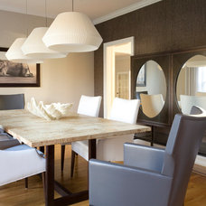 Contemporary Dining Room by PURVI PADIA DESIGN