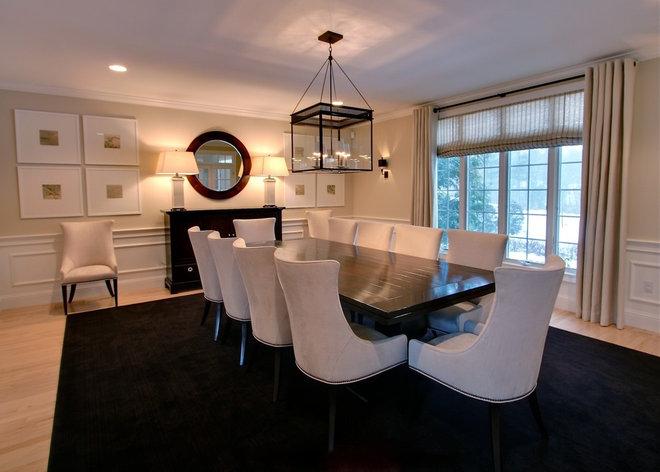 Contemporary Dining Room by Rachel Hazelton Interior Design
