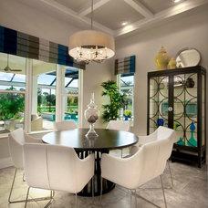 Contemporary Dining Room by Romanza Interior Design