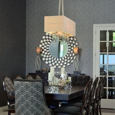 Contemporary Dining Room by Sarah St. Amand Interior Design