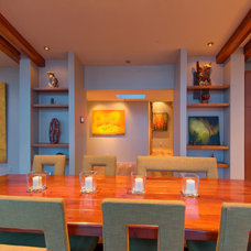Contemporary Dining Room by Stillwater Dwellings