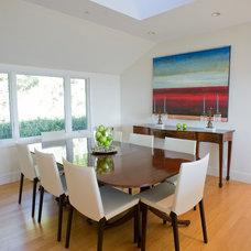 Contemporary Dining Room by Sarah Burke Design