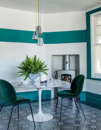Velvet furniture @ M Kelly Interiors