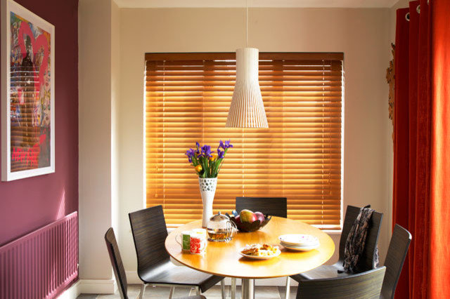 Contemporary Dining Room by Think Contemporary