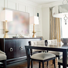 Contemporary Dining Room by Elizabeth Metcalfe Interiors & Design Inc.