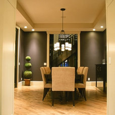 Contemporary Dining Room by Veranda Estate Homes & Interiors