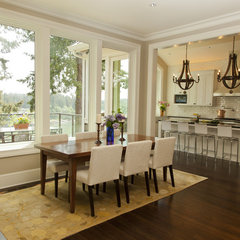 contemporary dining room by Whitney Lyons