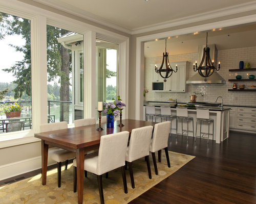 Simple dining room design this is my ideal dining for Dining room kitchen combination