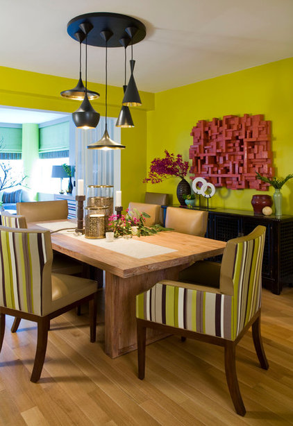 contemporary dining room by Willey Design LLC