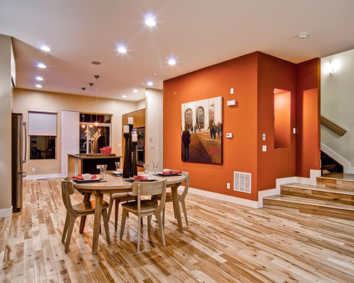 Orange Wall Paint Houzz