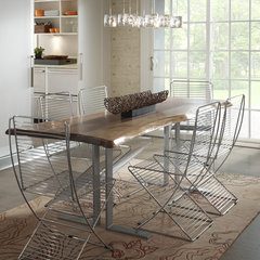 contemporary dining room by Woodland Creek Furniture