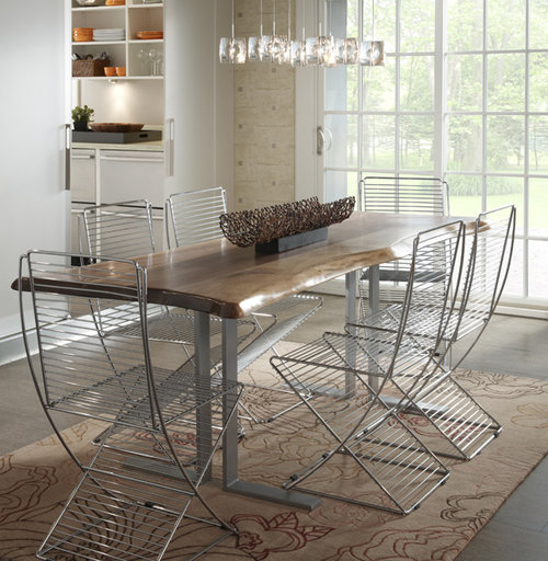 Modern Rustic Dining Tables Design Ideas Remodel Pictures Houzz