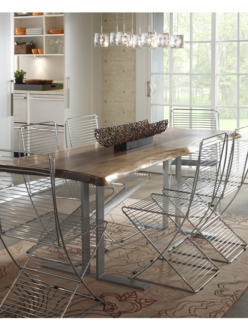 modern rustic dining tables | houzz