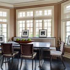 Contemporary Dining Room by SGH Designs inc.