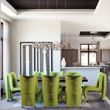 Contemporary Dining Room by Ashley Campbell Interior Design