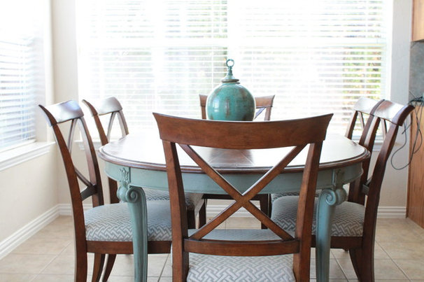 Contemporary Dining Room by Traci Connell Interiors