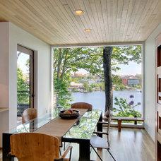 Contemporary Dining Room by Renzo J Nakata Architects