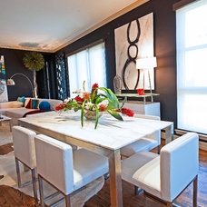 Contemporary Dining Room by The Design Firm