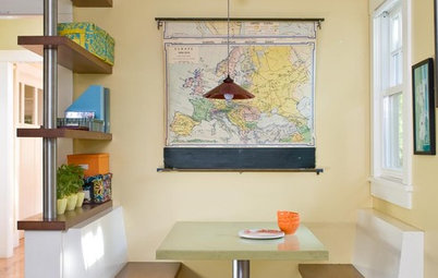 A World View: Decorating With Maps