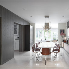 Contemporary Dining Room by Artichoke