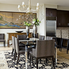 Eclectic Dining Room by Jenny Baines, Jennifer Baines Interiors