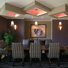 Contemporary Dining Room by Haley Custom Homes