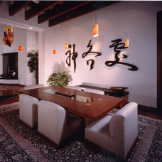 Asian Dining Room by TKP Architects