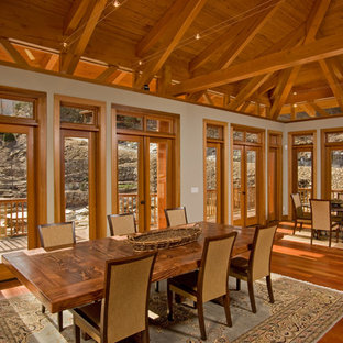 Contemporary Mountain Home by MossCreek