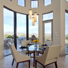 Contemporary Dining Room by Carlson Homes Scottsdale