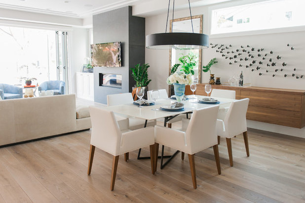 Contemporary Dining Room by Serendipite Designs