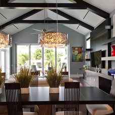 Contemporary Dining Room by Weber Design Group, Inc.