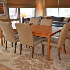 Contemporary Dining Room by Julia Williams, ASID