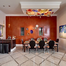 Contemporary Dining Room by Interiors By Agostino's