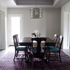 Contemporary Dining Room by Anderson Homes