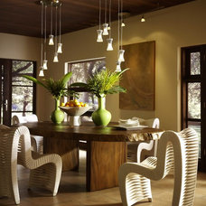 Contemporary Dining Room by Thingz Contemporary Living