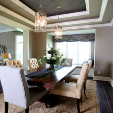 Contemporary Dining Room by Instyle Interiors