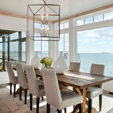 Beach Style Dining Room by Michael Greenberg & Associates