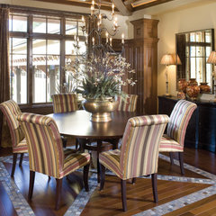traditional dining room by Alan Mascord Design Associates Inc