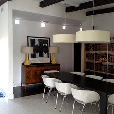Midcentury Dining Room by debora caruso kolb
