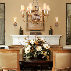 traditional dining room by Capitol Lighting