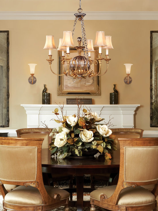 dining room table centerpiece | houzz