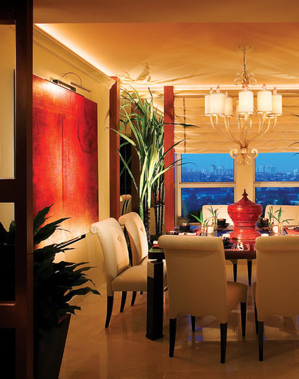 Contemporary Dining Room by 1800Lighting