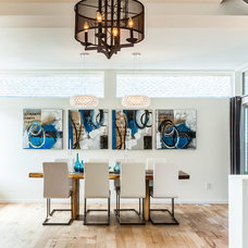 Contemporary Dining Room by Chris Pardo Design - Elemental Architecture
