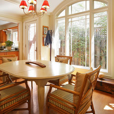 Traditional Dining Room by Domiteaux + Baggett Architects, PLLC