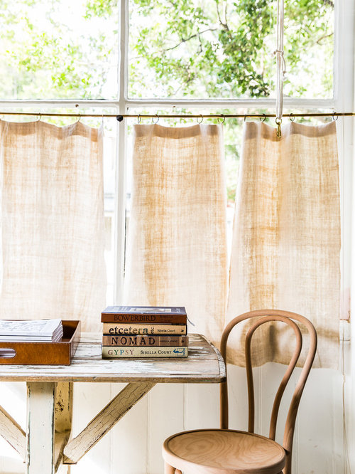 Linen Cafe Curtains Houzz
