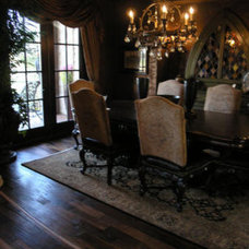 Traditional Dining Room by Cornerstone Homes by Chris Moock, LLC