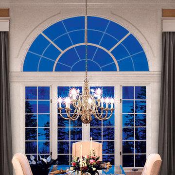 Cornice Window Treatments - Large Windows