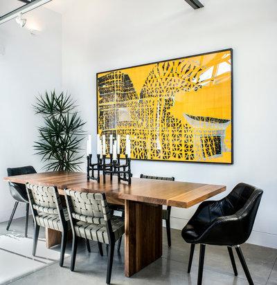 Contemporary Dining Room by GATH Interior Design