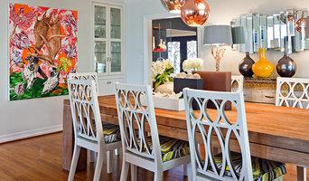 Coronado dining space in vivid color
