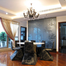 Asian Dining Room by Corpwell - Office Interior Design Solutions